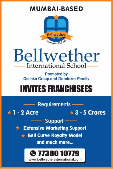 Bellwether International School Invite Franchises Ad