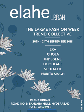 Elahe Urban The Lakme Fashion Week Ad