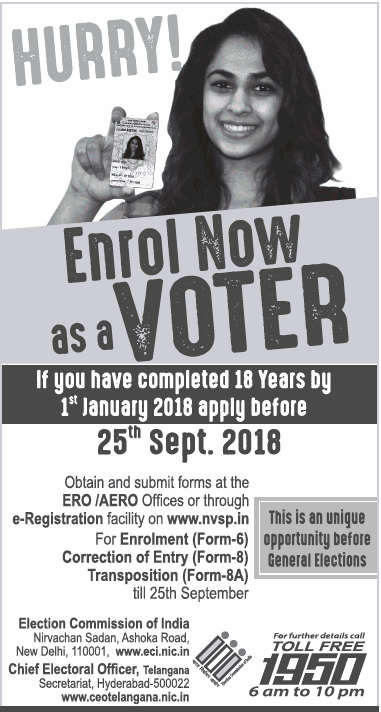 Election Commission Of India Ad