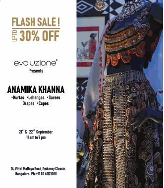 Namika Khanna Kurtas Flash Sale 30% Off Ad