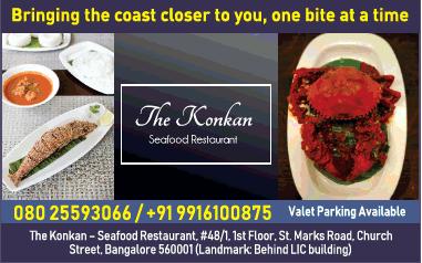 The Konkan Seafoods Restaurant Ad