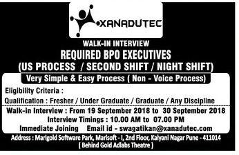Xanadutec Walk In Interview Ad