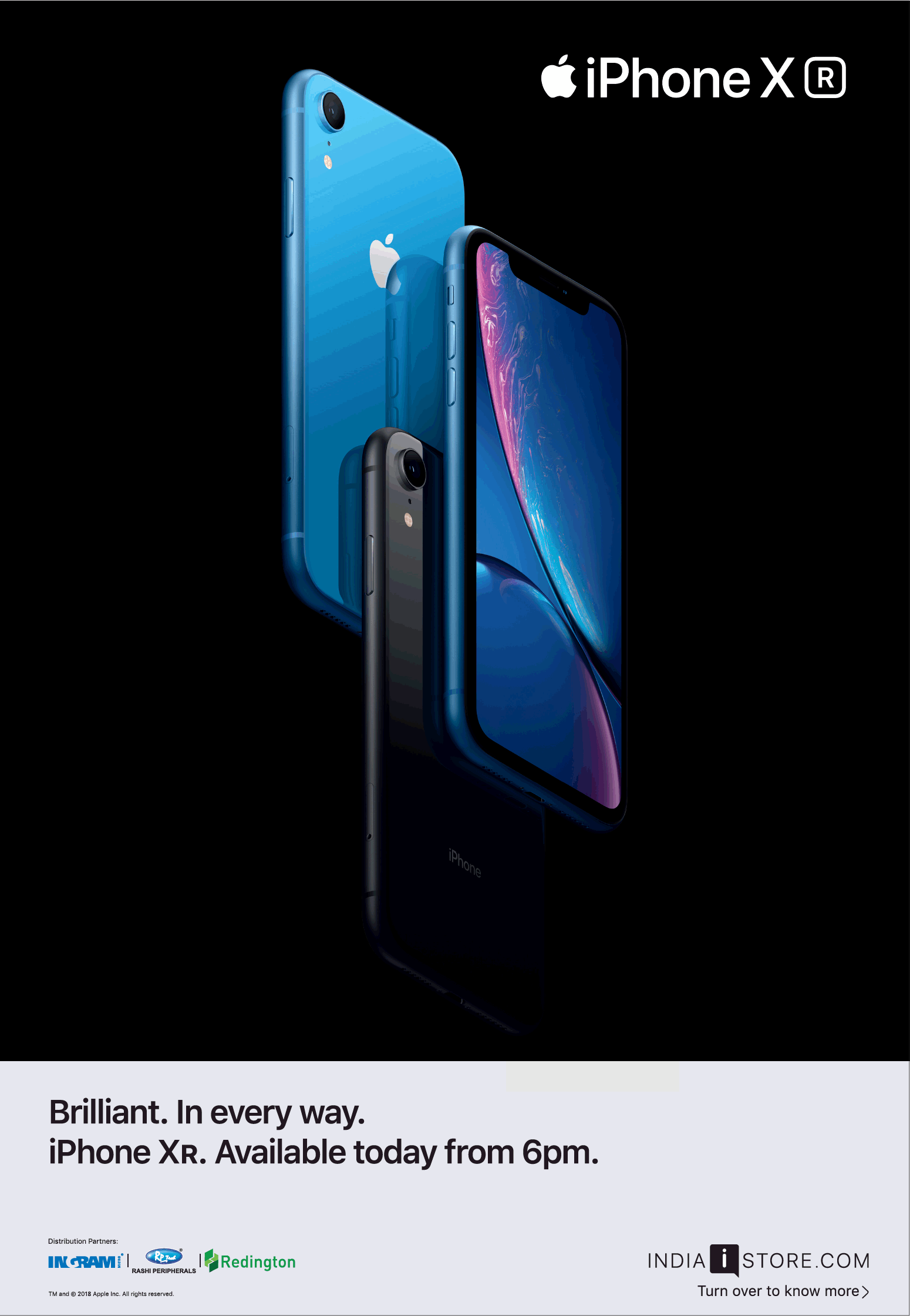 Iphone X R Brilliant In Every Way Ad - Advert Gallery