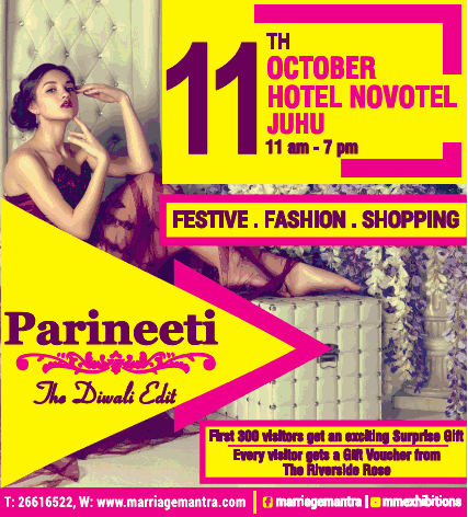 Parineeti Festive Fashion Shopping Ad
