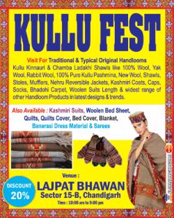 Kullu Fest Discount 20% Ad
