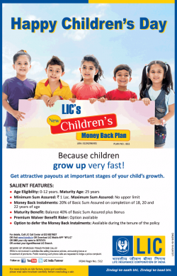 life-insurance-corporation-of-india-happy-childrens-day-ad-times-of-india-delhi-14-11-2018
