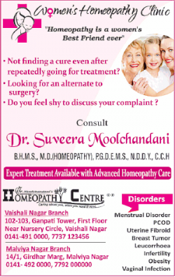 Womens Homeopathy Clinic Ad
