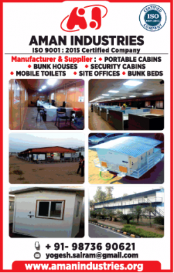 aman-industries-manufacturer-and-supplier-portable-cabins-ad-times-of-india-delhi-22-12-2018.png