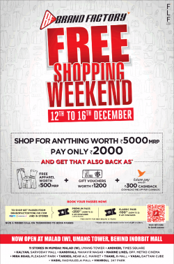 brand-factory-free-shopping-weekend-12th-to-16th-december-ad-times-of-india-mumbai-13-12-2018.png