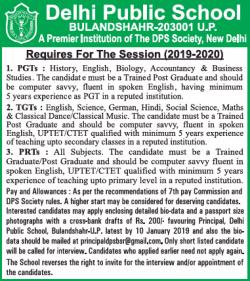delhi-public-school-requires-pgts-tgts-prts-ad-times-ascent-delhi-26-12-2018.png