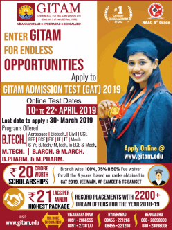 gitam-university-admission-test-2019-ad-times-of-india-chennai-18-12-2018.png