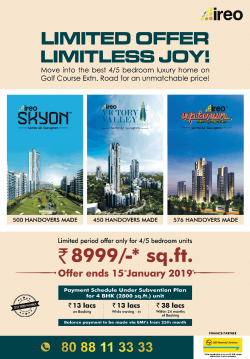 ireo-limited-offer-limitless-joy-ad-delhi-times-15-12-2018.png