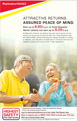 mahindra-finance-attractive-returns-assured-peace-of-mind-ad-times-of-india-mumbai-11-12-2018.png