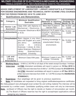 military-college-of-electronics-and-mechanical-engineering-interview-for-ad-times-of-india-hyderabad-02-12-2018.png