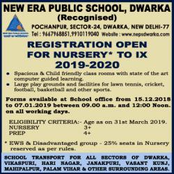 new-era-public-school-dwarka-registration-opeen-for-nursery-to-9th-2019-2020-ad-times-of-india-delhi-14-12-2018.png