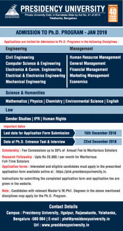 presidency-university-admission-to-phd-program-jan-2019-ad-times-of-india-bangalore-05-12-2018.png