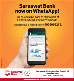 saraswat-bank-now-on-whatsapp-ad-times-of-india-mumbai-27-12-2018.png