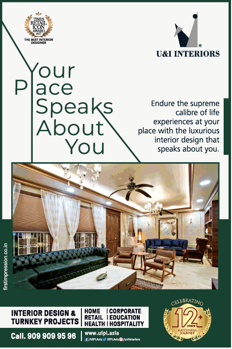 U And I Interiors Interior Dsign And Turnkey Projects Ad In
