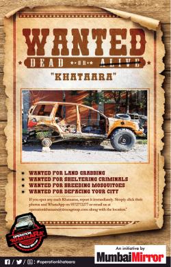 wanted-dead-or-khataara-wanted-for-land-grabbing-sheltering-criminals-operation-khataraa-ad-times-of-india-mumbai-14-12-2018.png